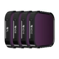 Freewell Standard Day 4Pack Filter für HERO9 & 10 Black
