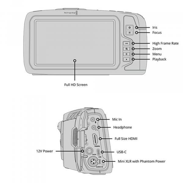 Blackmagicdesign Pocket Cinema Camera 4K