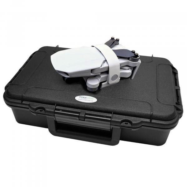 TOMcase Smart Etui XT004 schwarz Inlay schwarz/rot für Mini 2