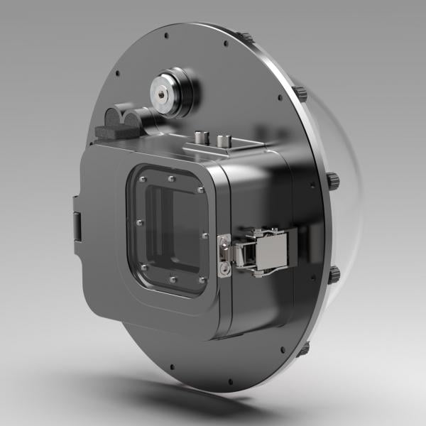 T-HOUSING Aluminium Tieftauchgehäuse DOME1 für Insta360 ONE R 1-Inch